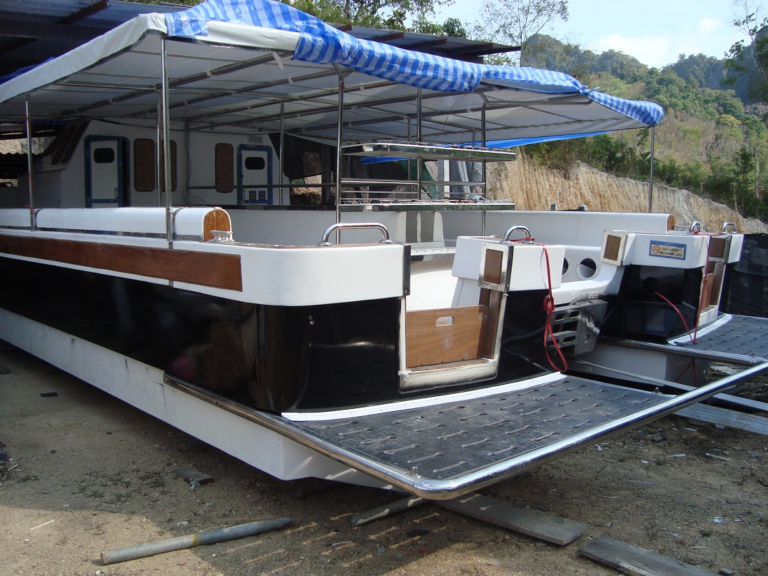 Catamarans for sale commercial leisure diving boats for Catamaran fishing boats for sale